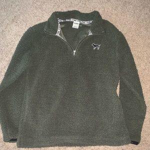 Pink VS Sherpa sweater